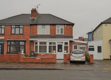 Thumbnail 3 bed semi-detached house for sale in Kitchener Road, Evington, Leicester