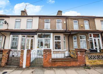 Thumbnail 3 bedroom terraced house for sale in Harrow Road, Barking