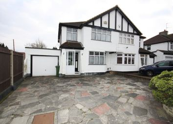 Thumbnail 3 bed semi-detached house for sale in Frankswood Avenue, Petts Wood, Orpington