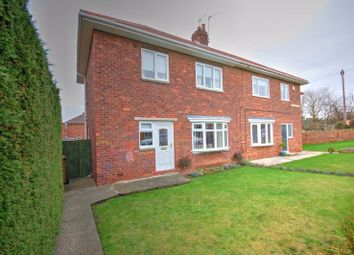 Thumbnail 3 bed semi-detached house for sale in St. Cuthberts Road, Holystone, Newcastle Upon Tyne