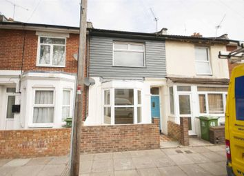 Thumbnail 3 bed terraced house to rent in Jervis Road, Portsmouth