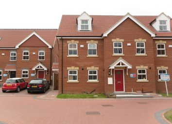 Thumbnail 3 bed semi-detached house to rent in Old School Close, Brigg