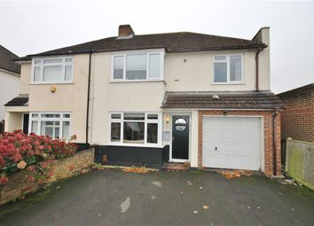 Thumbnail 4 bed semi-detached house for sale in Warwick Avenue, Egham, Surrey