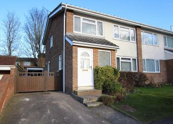 Thumbnail 3 bedroom semi-detached house to rent in Poplar Drive, Royston