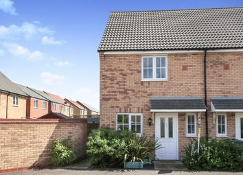 Thumbnail 2 bed end terrace house for sale in Jubilee Drive, Market Deeping, Peterborough