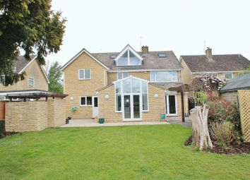 Thumbnail 5 bed detached house for sale in Rack End, Standlake, Witney