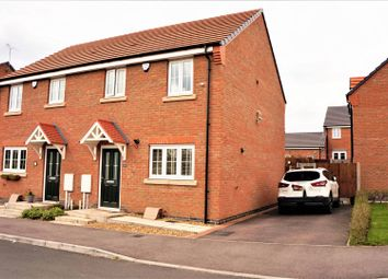 Thumbnail 3 bedroom semi-detached house for sale in Cooper Close, Markfield