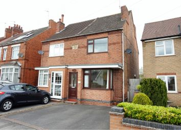 Thumbnail 3 bed semi-detached house for sale in Lower Packington Road, Ashby-De-La-Zouch