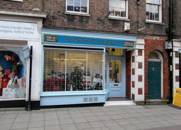 Thumbnail Retail premises for sale in 28 Hill Street, Wisbech