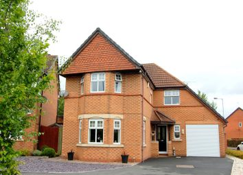 Thumbnail 4 bed detached house for sale in Landstone Road, Stafford