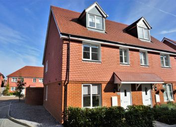 Thumbnail 4 bed semi-detached house for sale in Parsons Way, Farnham