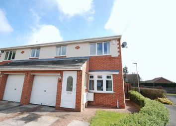 Thumbnail 3 bed semi-detached house for sale in Shire Farm Grove, Ashington
