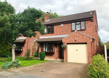 Thumbnail 3 bed detached house for sale in Sherston Close, Oakwood, Derby