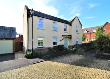 Thumbnail 4 bed detached house for sale in Dowland Close, Redhouse, Swindon