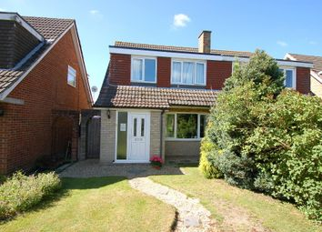 Thumbnail 3 bed semi-detached house for sale in Kepple Place, Bagshot