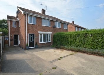 Thumbnail 3 bed property for sale in Croft Road, Camblesforth, Selby