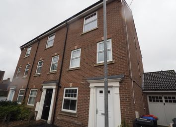 Thumbnail 4 bed town house to rent in Corncrake Mews, Kirkby-In-Ashfield, Nottingham