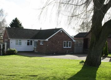 Thumbnail 3 bed detached bungalow for sale in Grey Close, Groby, Leicester
