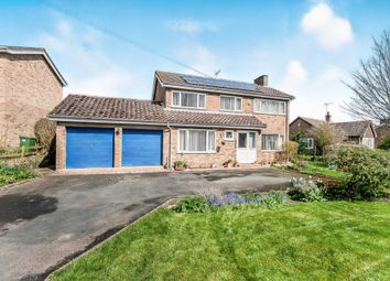 Thumbnail 4 bed detached house for sale in Caldecote Road, Stilton, Peterborough