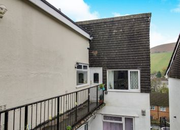 Thumbnail 2 bed flat for sale in The Garth, Abertridwr, Caerphilly