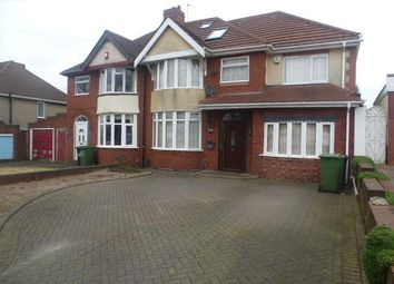 Thumbnail 5 bedroom semi-detached house to rent in The Broadway, Dudley