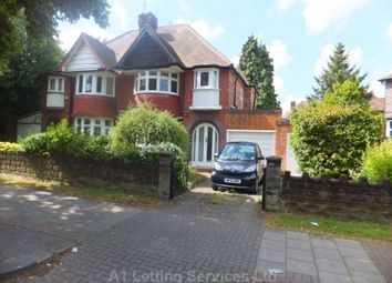 Thumbnail 3 bed semi-detached house to rent in School Road, Hall Green, Birmingham