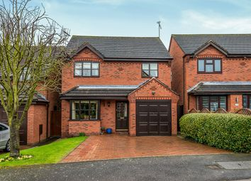 Thumbnail 3 bed detached house for sale in Woodlands Rise, Draycott-In-The-Clay, Ashbourne