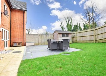 Thumbnail 3 bed semi-detached house for sale in Elysium Park Close, Whitfield, Kent