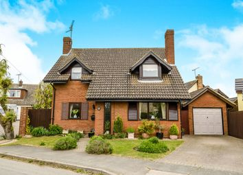 Thumbnail 3 bed detached house for sale in Longacres Hanover Square, Feering, Colchester