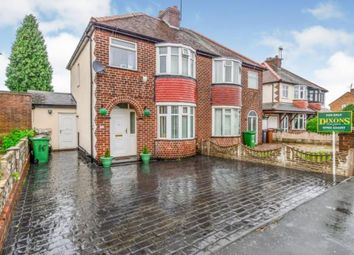 Thumbnail 3 bed semi-detached house for sale in Lincoln Avenue, Willenhall, West Midlands