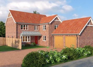 Thumbnail 4 bed detached house for sale in Rowan Close, Watlington, King's Lynn