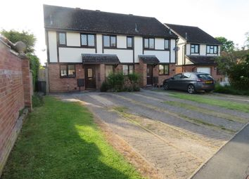 Thumbnail 2 bed end terrace house to rent in Quantock Close, Kings Acre, Hereford