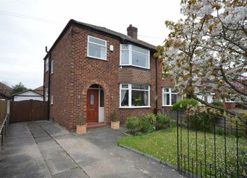 Thumbnail 3 bed semi-detached house for sale in Hartford Avenue, Heaton Chapel, Stockport, Greater Manchester