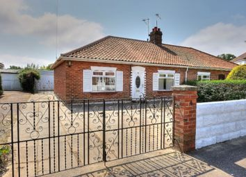 Thumbnail 2 bed semi-detached bungalow for sale in Samson Road, Norwich