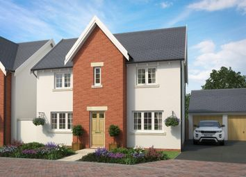 "Thumbnail 4 bed link-detached house for sale in ""Thornbury 1"" at The Green, Chilpark, Fremington, Barnstaple"
