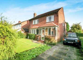 Thumbnail 3 bed detached house for sale in Rochester Grove, Hazel Grove, Stockport, Greater Manchester