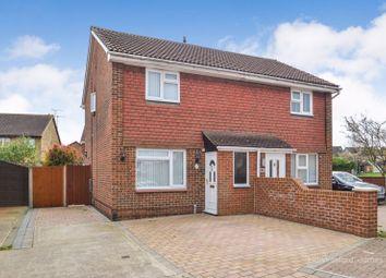 Thumbnail 3 bed semi-detached house for sale in Hambrook Walk, Milton Regis, Sittingbourne