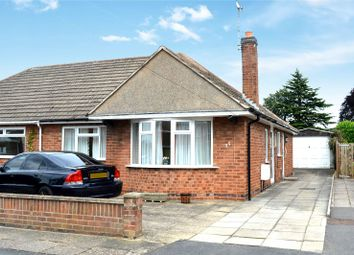 Thumbnail 2 bed semi-detached bungalow for sale in Primrose Hill, Oadby, Leicester