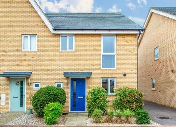 Thumbnail 3 bed semi-detached house for sale in Spitfire Road, Upper Cambourne, Cambridge