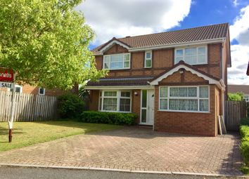 Thumbnail 4 bedroom detached house for sale in Shackleton Avenue, Yate, Bristol