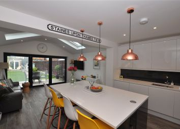 Thumbnail 3 bed terraced house for sale in Garrick Close, Staines-Upon-Thames, Surrey
