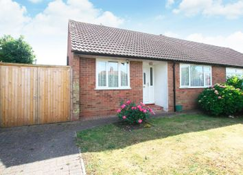 Thumbnail 2 bed semi-detached bungalow for sale in Sweechgate, Broad Oak, Canterbury