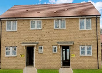 Thumbnail 3 bedroom semi-detached house for sale in Fairway Drive, Brampton, Huntingdon