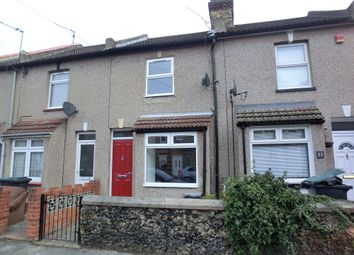 Thumbnail 2 bedroom terraced house to rent in Churchill Road, Northfleet, Gravesend