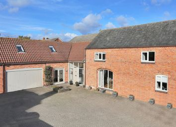 Thumbnail 4 bed barn conversion for sale in Church Lane, Thrussington, Leicester