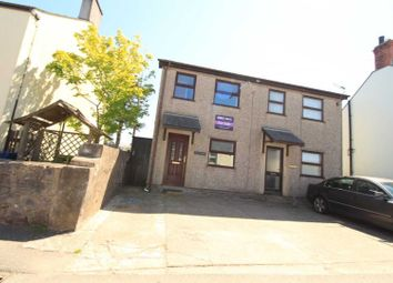 Thumbnail 2 bed semi-detached house for sale in Carmel, Caernarfon