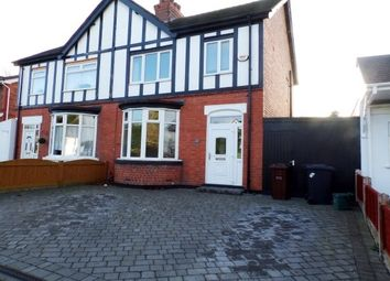 Thumbnail 3 bed semi-detached house to rent in Richmond Road, Wolverhampton