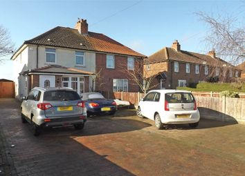 Thumbnail 3 bedroom semi-detached house for sale in Adelaide Road, Elvington, Dover, Kent