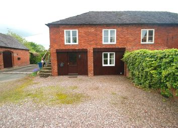 Thumbnail 1 bed barn conversion to rent in The Allways, Milwich