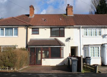 Thumbnail 3 bed terraced house to rent in Eastham Road, Billesley, Birmingham, West Midlands